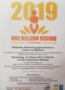 One Billion Rising @ Paderborner Rathaus