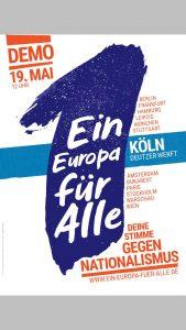 Ein Europa für alle Demo @ Köln Deutzer Werft